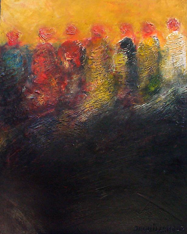 [une peinture]